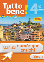 Manuel numérique Tutto bene! italien cycle 4 / 4e LV2 - Licence enrichie élève - éd. 2017