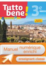 Manuel numérique Tutto bene! italien cycle 4 / 3e LV2 - Licence enrichie enseignant - éd. 2017