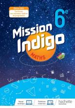 Mission Indigo 6e - Livre élève - Ed. 2021