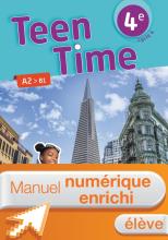 Manuel numérique Teen Time anglais cycle 4 / 4e - Licence enrichie élève - éd. 2017