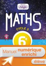 Manuel numérique Mission Indigo mathématiques cycle 3 / 6e - Licence enrichie élève - éd. 2017