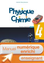 Manuel numérique Physique-Chimie cycle 4 / 4e - Licence enrichie enseignant - éd. 2017
