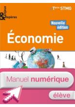 Enjeux & Repères Économie Tle STMG - Manuel numérique élève - Éd. 2018