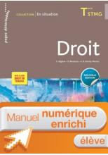 En Situation Droit Tle STMG - Manuel numérique interactif élève - Éd. 2018