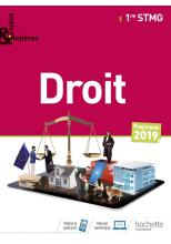 Enjeux et Repères Droit 1re STMG - Livre élève - Éd. 2019