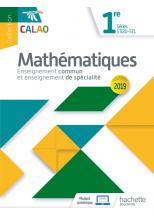 Calao Mathématiques 1re STI2D, STL - Livre élève - Éd. 2019