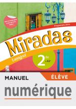 Manuel numérique Miradas 2nde - Licence élève - Ed. 2019