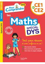Pour Comprendre Maths CE1-CE2 - Spécial DYS (dyslexie)
