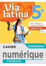 Via Latina 5ème - Manuel numérique enseignant -  Éd. 2021