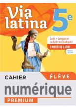 Via Latina 5ème - Manuel numérique élève -  Éd. 2021
