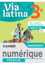 Via Latina 3ème -  Manuel numérique enseignant -  Éd. 2021
