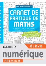 Carnet de pratique de Maths - Manuel numérique élève -  Éd. 2021