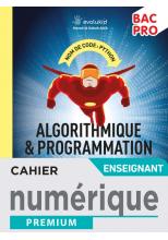 Cahier d'algorithmique et de programmation Python Bac Pro - Manuel numérique enseignant -  Éd. 2021