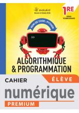 Nom de code : Pyton Cahier d'algorithmique et programmation - 1re techno - Manuel num él -  Éd. 2021
