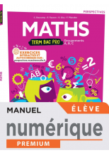 Perspectives Mathématiques terminale Bac Pro - manuel numérique élève -  Éd. 2021