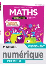 Perspectives Mathématiques terminale Bac Pro - manuel numérique enseignant -  Éd. 2021