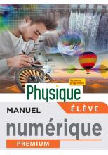 Physique-Chimie terminale Bac Pro - manuel numérique élève -  Éd. 2021