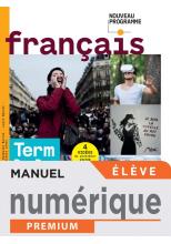 Français terminale Bac Pro - Manuel numérique élève -  Éd. 2021