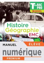 Histoire-Géographie terminale Bac Pro - Manuel numérique élève -  Éd. 2021