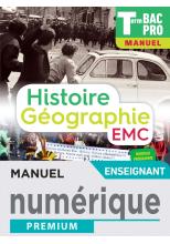 Histoire-Géographie terminale Bac Pro - Manuel numérique enseignant -  Éd. 2021