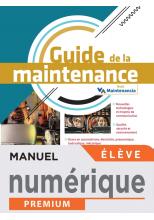 Guide de la maintenance - Manuel numérique élève -  Éd. 2021