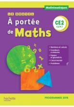 Le Nouvel A portée de maths CE2 - Manuel numérique simple enseignant - Edition 2019