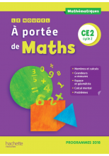 Le Nouvel A portée de maths CE2 - Manuel numérique simple élève - Edition 2019