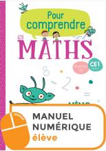 Pour comprendre les maths CE1 - Fichier numérique simple élève - Ed. 2019