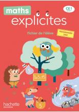 Maths Explicites CE1 - Fichier numérique enrichi élève - Edition 2020