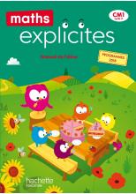 Maths Explicites CM1 - Manuel numérique enseignant - Ed. 2020
