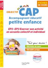 Fiches - CAP Accompagnant Éducatif Petite Enfance - épreuves 2 et 3