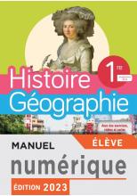 Manuel numérique Histoire/Géographie 1ère compilation - Licence élève - Ed. 2019