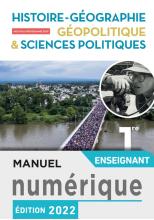 Manuel numérique Hist/Géo, Géopolitique, Sciences politiques 1ère spé- Licence ens - Ed. 2019