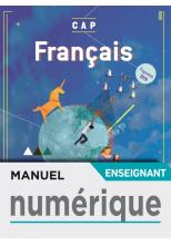 Français CAP - Manuel numérique enseignant - Éd. 2019