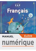 Français CAP - Manuel numérique élève - Éd. 2019