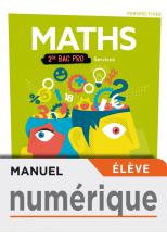Perspectives Mathématiques 2de Bac Pro Services - Manuel numérique élève - Éd. 2019