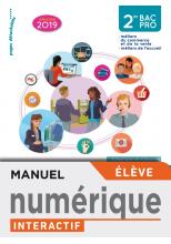 Famille des métiers de la relation client 2de Bac Pro - Manuel interactif élève - Éd. 2019