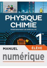 Physique-Chimie 1re STI2D - Manuel numérique élève - Éd. 2019