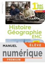 Histoire-Géographie-EMC 1re Bac Pro - Manuel numérique élève - Éd. 2020