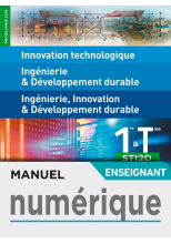 IT - I2D - 2I2D 1re/Tle STI2D - Manuel numérique enseignant - Éd. 2019