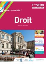 Enjeux et Repères Droit Terminale STMG - Livre élève - Éd. 2020