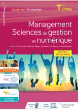 En situation Management, Sciences de gestion et numérique - cahier de l'élève - Éd. 2020