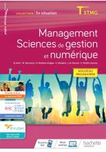 En situation Management, Sciences de gestion et numérique - cahier de l'élève - Éd. 2020
