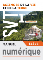 Manuel numérique Planète SVT 1ère - Licence élève - Ed. 2019
