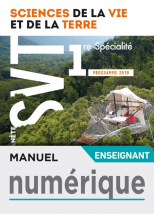 Manuel numérique Planète SVT 1ère - Licence enseignant - Ed. 2019