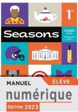 Manuel numérique Seasons 1ère - Licence élève - Ed. 2019
