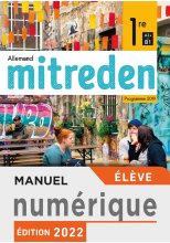 Manuel numérique Mitreden 2nde - Licence élève - Ed. 2019