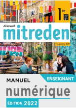 Manuel numérique Mitreden 2nde - Licence enseignant - Ed. 2019