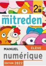 Manuel numérique Mitreden 1ère - Licence élève - Ed. 2019