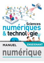 Manuel numérique Sciences numériques et technologie 2nde - Licence enseignant- Ed. 2019